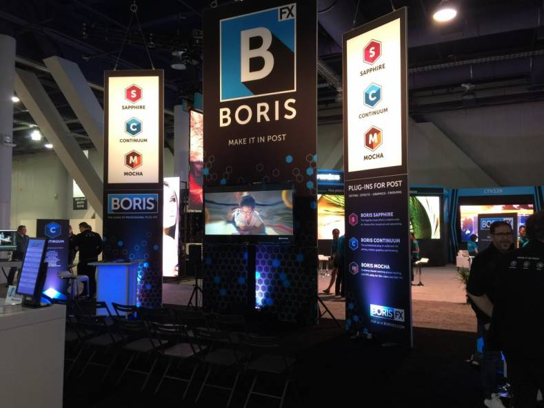 There will be a large list of guest artists demonstrating the capabilities of the graphics software at the Boris FX NAB exhibit.