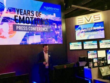 Johan Vounckx, svp technology innovations, at EVS