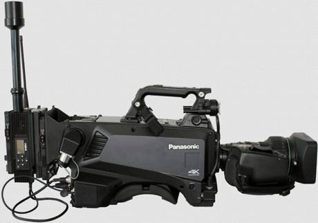 The Panasonic AK-UC3000 camera can now be equipped with an IMT Vislink HCAM video transmitter for HD or 4K ENG applications.