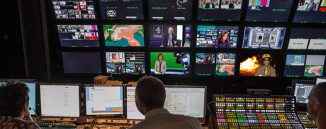 ITN control room. Image: ITN