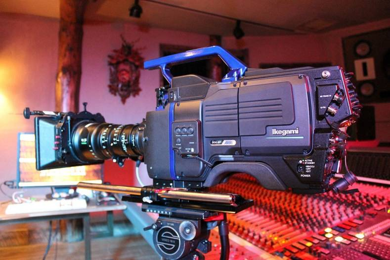 Spike TV uses the innovative Ikegami HDK-97ARRI cameras for finale of Ink Master.
