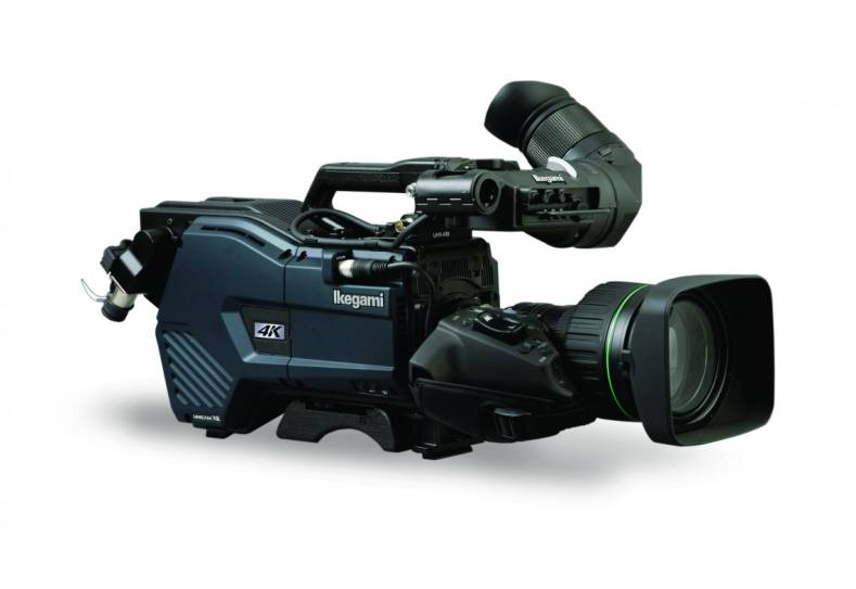 Ikegami will demonstrate HDR compatibility with the UHK-430  4K camera.