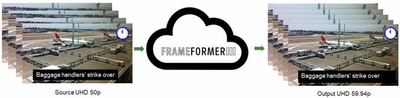 FrameFormer Live, a new standards converter from InSync.