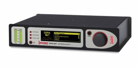 The SOFIA 567 AM SiteStreamer+ works in tandem with Inovonics INOmini SiteStreamers web-enabled receivers for remote signal monitoring.