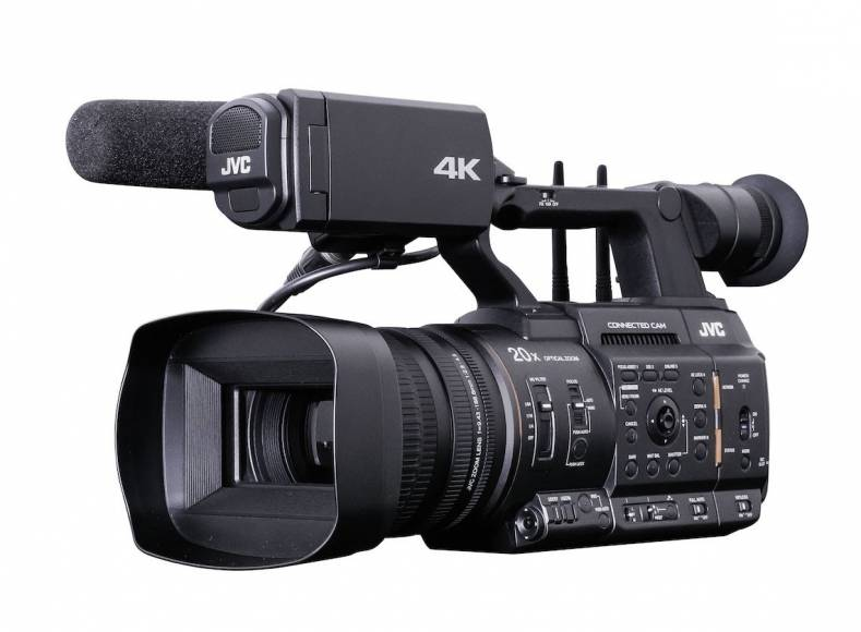 The JVC GY-HC550 camcorder can stream breaking news stories without a satellite or microwave truck.