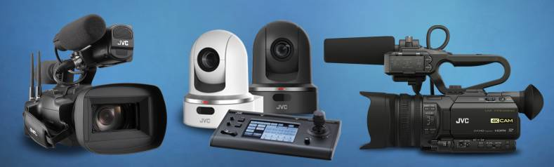 The GY-HM250 Series of cameras stream directly to popular platforms, like Facebook, YouTube, Twitch and other CDNs.
