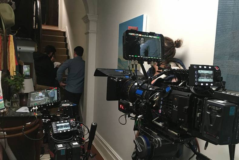 DP Judd Overton selects Varicam LT for 'The Letdown'. Image courrtesy Judd Overton.