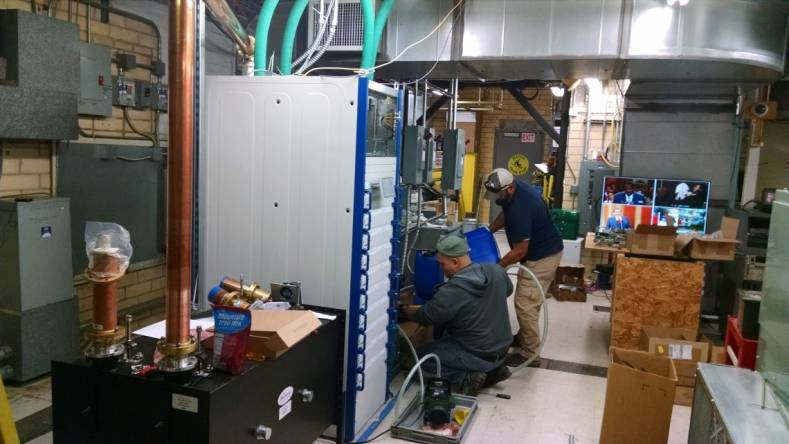 Experienced Rohde & Schwarz Services field installers made quick work of a TV transmitter commissioning involving a new RF patch panel.