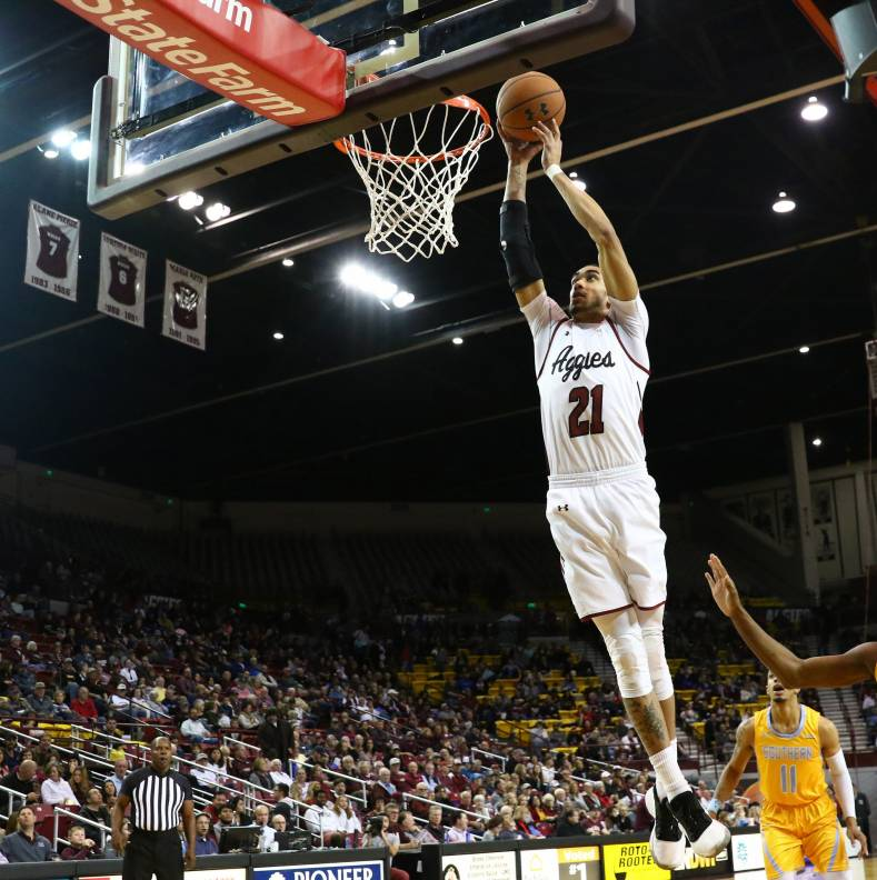 Hoop dreams - LTN Global smashes it for NMSU.