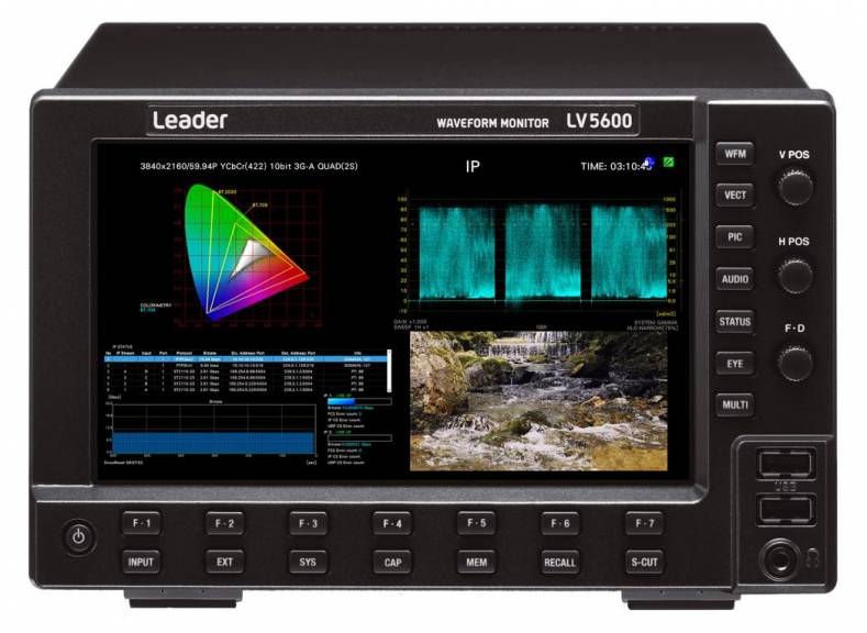 New options add 25GbE uncompressed 4K capabilities to Leader's flagship test instruments.