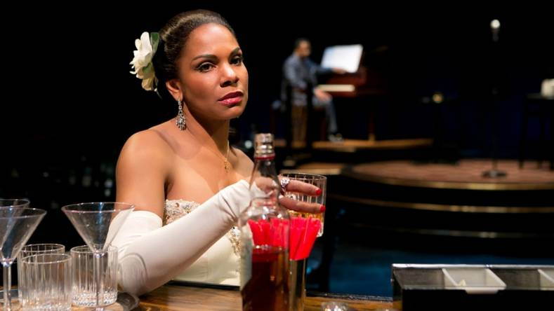 Actress Audra McDonald plays the role of Billie Holliday in the musical
