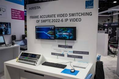 Arista and Lawo at NAB 2015