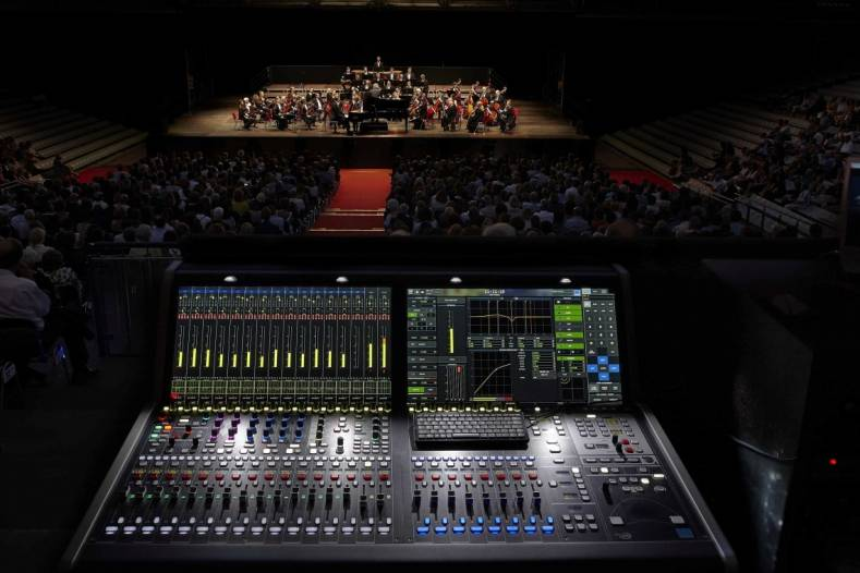 Deploying the Lawo mc²36 console for the Ravenna Festival helped simplify the sound setup over that of previous years.