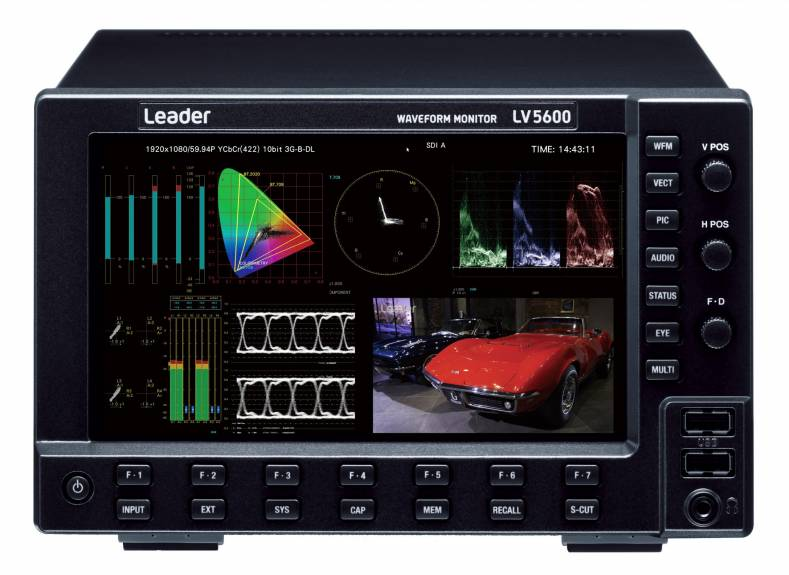 Leader LV5600s will be used to measure and monitor signal parameters in HD BROADCAST's newest UHD OB2.