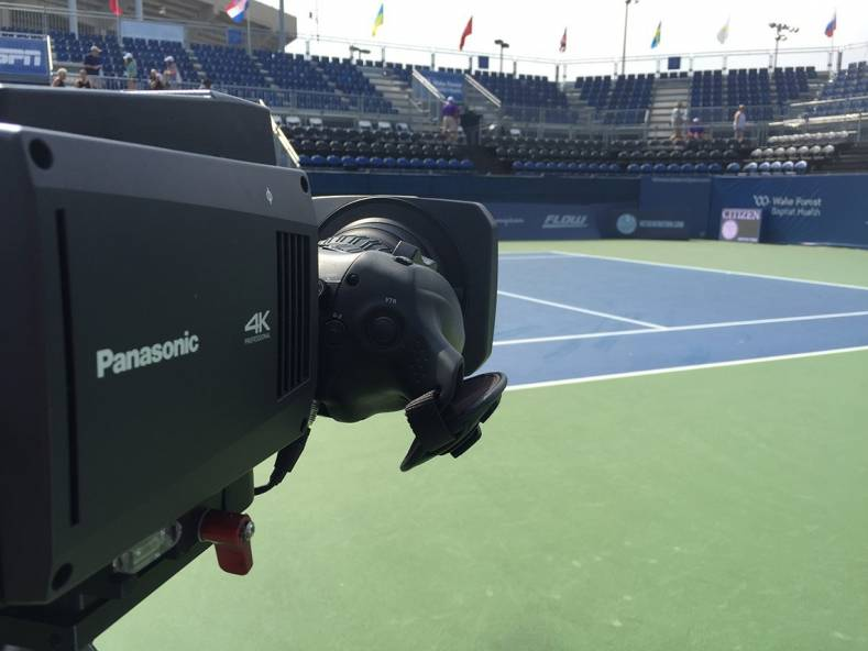 The Panasonic UB300 cameras used over IP gives LiveSports more flexibilty for remote production.