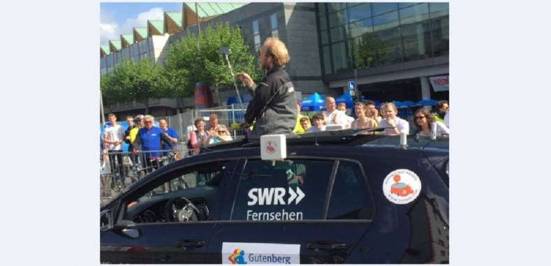 A LiveU-enabled iPhone provided a real sense of the occasion for marathon race watchers.