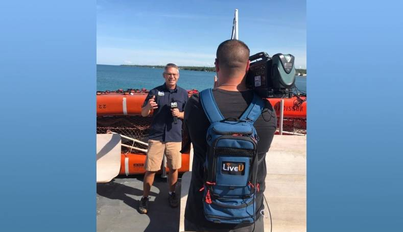 Northern Michigan's WWTV/WWUP recently added 9 LU600s and 15 LiveU Smart mobile app licenses to its ENG fleet.