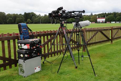 LiveU LU800 in action at the Cartier Queen