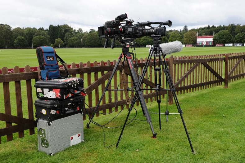 LiveU LU800 in action at the Cartier Queen's Cup 2020 Polo Tournament.