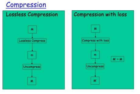 Lossless compression algorithms allow the original data to be perfectly reconstructed from the compressed data.