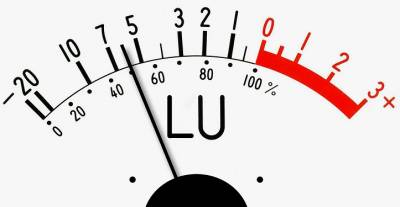Loudness units relative to full scale (LUF) is the most accurate way to measure the audio level of a program or commercial.