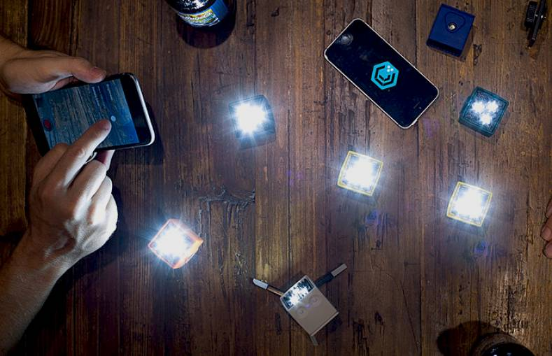 Small LED Lights Test the Portability of Mobile Video The