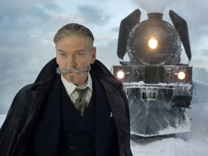 Kenneth Branagh directs and stars in the 20th Century Fox production, Murder on the Orient Express.