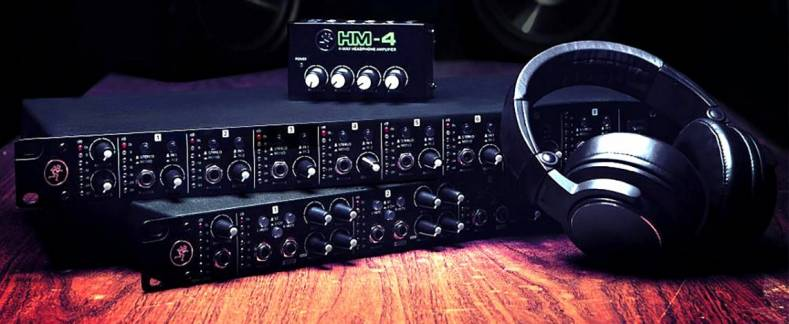 Mackie HM series headphone amplifier are available in multiple configurations.