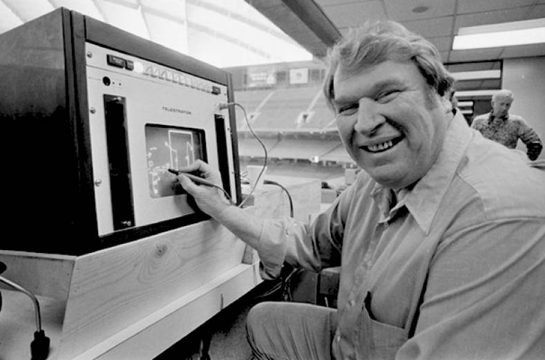 John Madden in 1982.  Associated Press Photo.