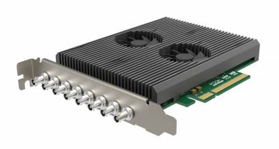 Pro Capture Dual SDI 4K Plus flexibly captures two simultaneous channels of 4K video at full 60fps from single-link 12G-SDI, dual-link 6G-SD
