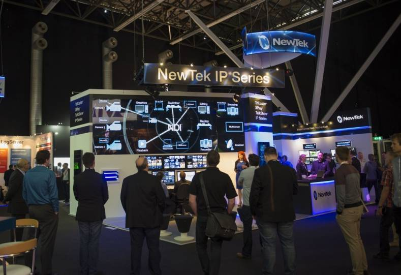 NDI technology was not only at NewTek's IBC exhibit, it was seen throughout the exhibit halls.