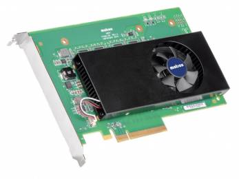 The new Matrox M264 multi-channel 4:2:2 10-bit H.264 encoder card.