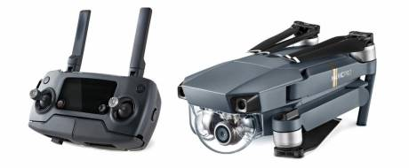 Mavic Pro – folder with remote control.