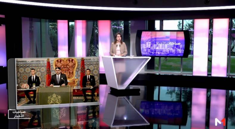 The North African TV news market is so competitive, Medi 1 TV turned to Avid graphics to give them the edge