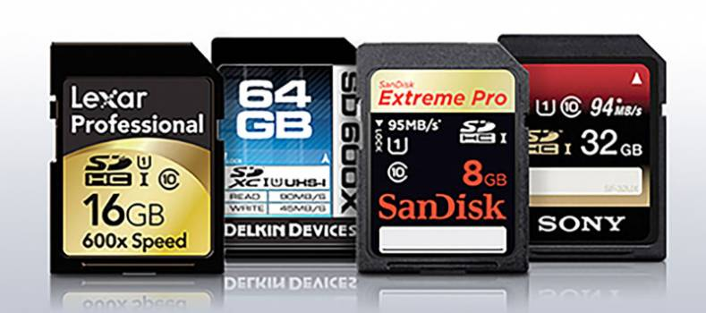 There is a wide variety of SD storage available, but beware that all flash storage is not equal.