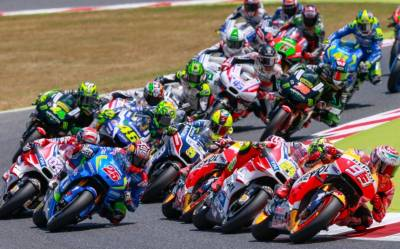 2016 FIM MotoGP World Championship race.