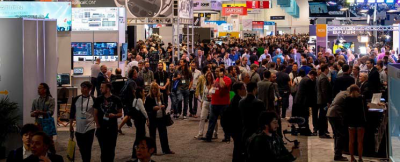 Future trade shows may be hybrid affairs combining physical and virtual displays and attendance.