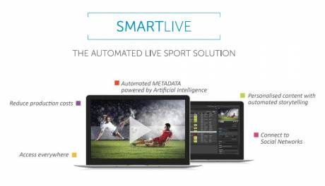 Tedial's SmartLive sports production solution supports remote logging, PAM support and automated storytelling.