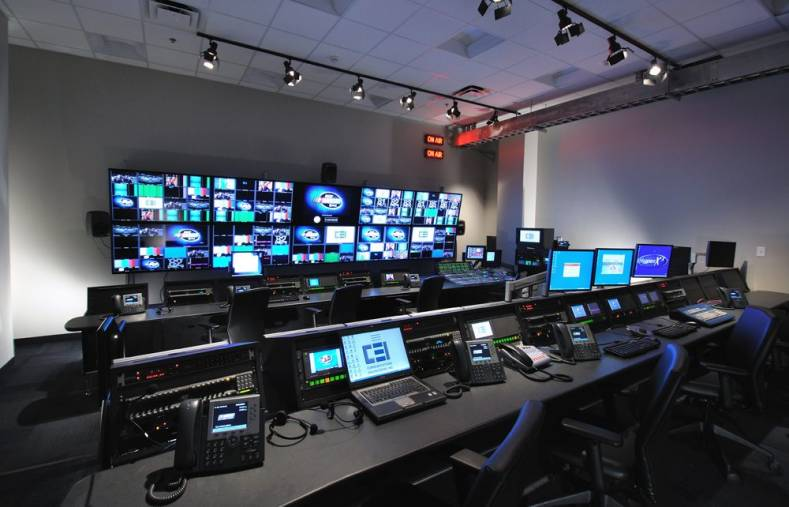 NASCAR Productions' three control rooms feature are specifically configured to handle IP-based At Home remote productions.