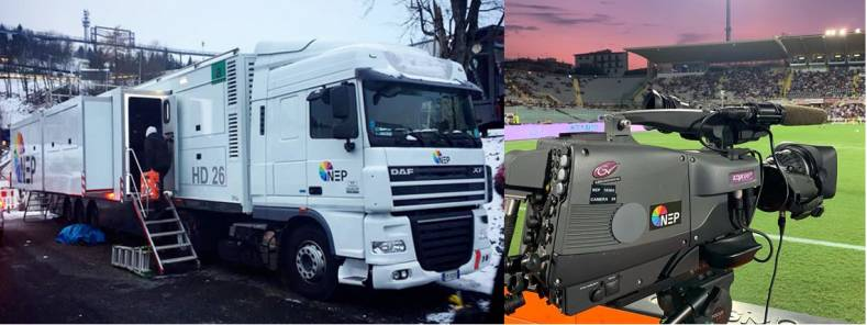 NEP Italy recently upgraded two OB vans to UHD, vital for football coverage.