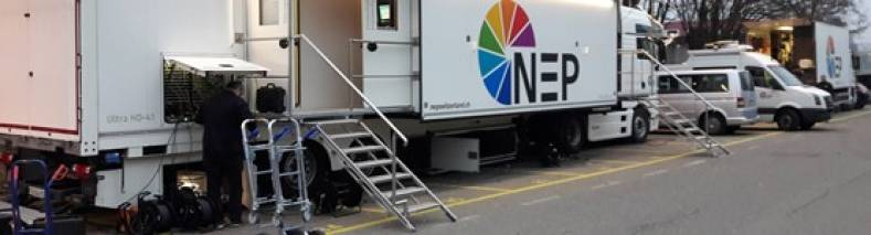NEP's OB Facilities will be used to cover Switzerland's Raiffeisen Super League football.