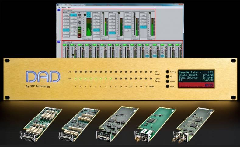 NTP Technology Unveils New MADI and AES3 Cards - The Broadcast