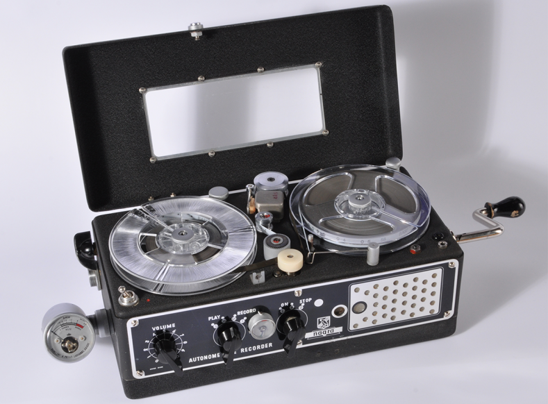 The original Nagra tape machine.