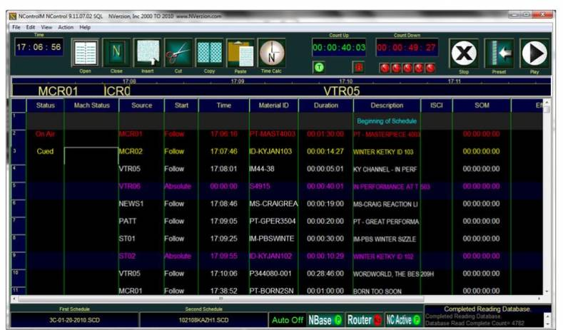 NVerzion's automation systems such as NControl and NControl (MC), both support multiple playlists for continuous playout.