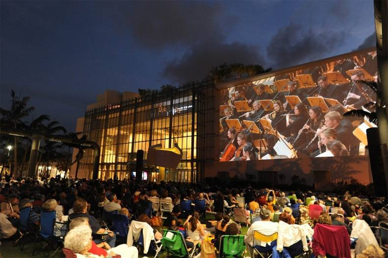 New World Symphony relies on Hitachi and Christie for 4K projections of WALLCAST concerts.
