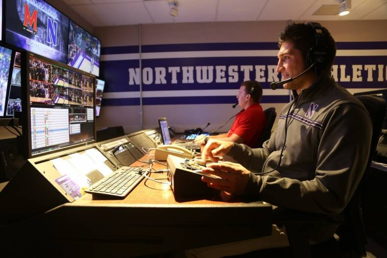 ZEPLAY is installed in the university's new HD control room, which is networked to the video boards at Ryan Field and Welsh-Ryan Arena.