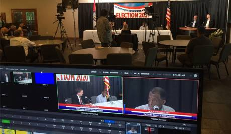 Live TV Karma is always lurking behind live lenses from network World Championship Broadcasts to local Candidate Forums.