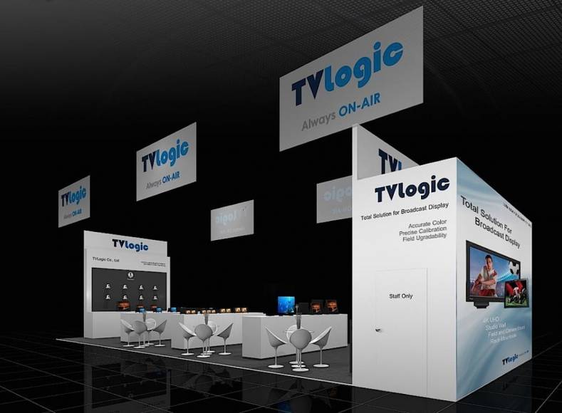 TVLogic's new exhibit at the NAB Show 2018 will be brimming with new UHD and 4K displays.