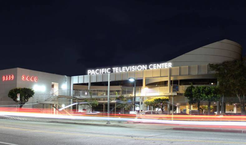 Pac TV new LA Campus signage