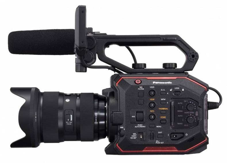 GSU media center, CMII, to use Panasonic EVA1 (image) and Varicam LT cinema cameras.